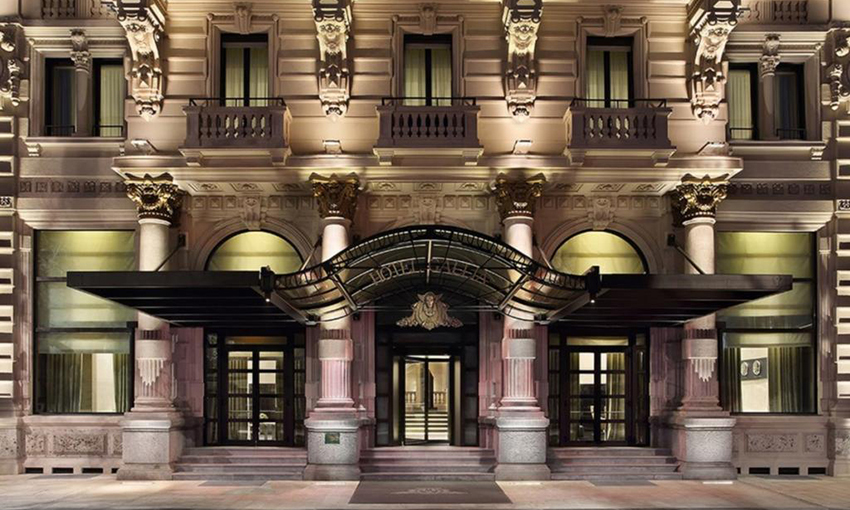 Cristina Schiavon Excelsior Gallia Hotel Sauna e Hammam Effegibi